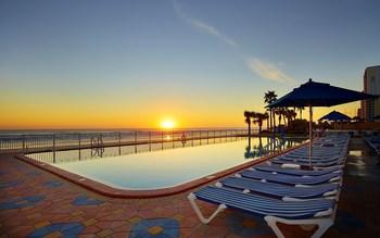 Outdoor pool at Plaza Resort & Spa.