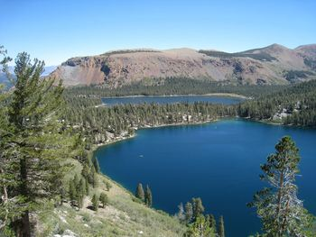 Mammoth Mountain and Lake at Seasons 4 Condominium Rentals.