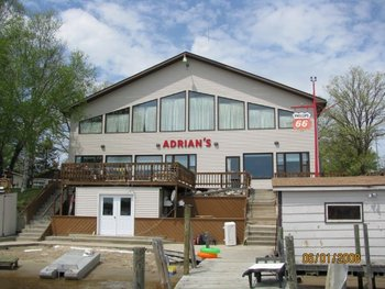 Exterior of Adrian's Resort.