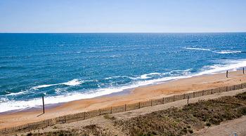 Ocean view at Hilton Garden Inn Outer Banks.
