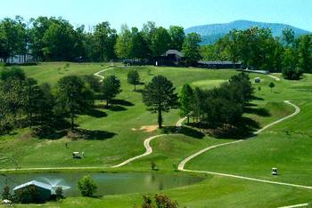 Butternut Creek Golf Course near Avenair Mountain Cabins.