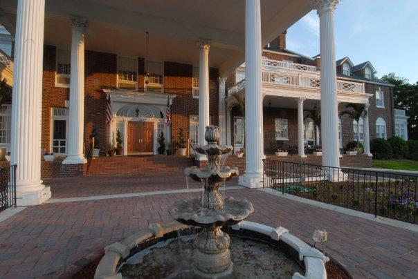 Fountain at The Mimslyn Inn
