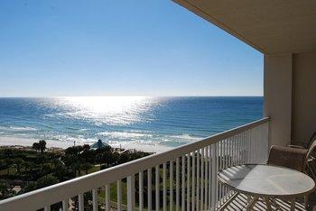 Balcony view at Silver Shells Beach Resort & Spa.