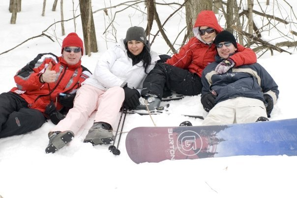 Skiing and snowboarding at Devils Head Resort & Convention Center.