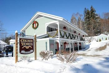 Holiday season at Oxen Yoke Inn.