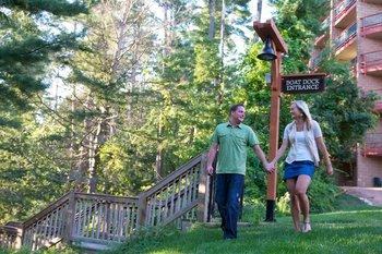 Hiking at Chula Vista Resort.