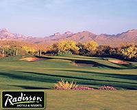 Golf course at Radisson Fort McDowell Resort