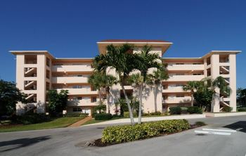Condo exterior at Naples Florida Vacation Homes.