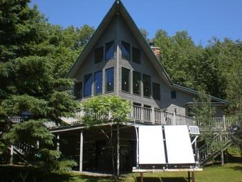 Exterior view of Artesian House.