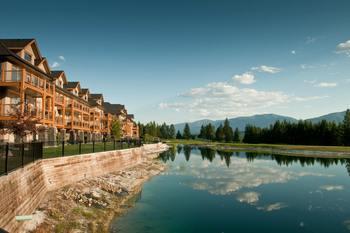 Exterior view of Bighorn Meadows Resort.