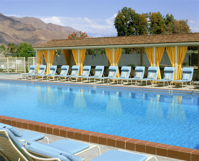 Outdoor pool at Smoke Tree Ranch.
