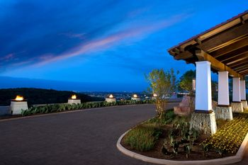 Front entrance at La Cantera Hill Country Resort.