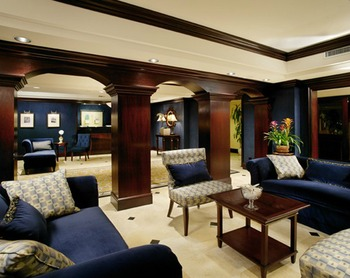 Lounge at Empress Hotel.