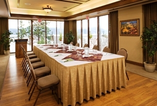 Meeting room at Lake Okanagan Resort