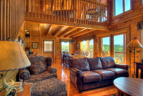 pigeon forge vacation rentals cabin spacious 6 bedroom