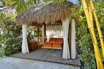 Cabana at Palms Hotel.