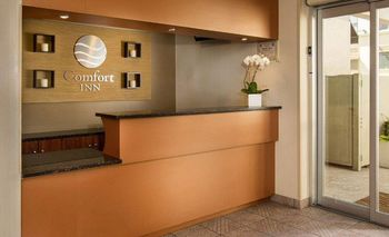 Front Desk at Comfort Inn Times Square South