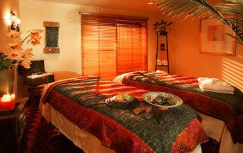 Spa room at The Westin Lake Las Vegas Resort & Spa.
