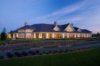 Exterior view of Tullymore Golf Resort.