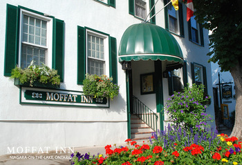 Exterior view of Moffat Inn.