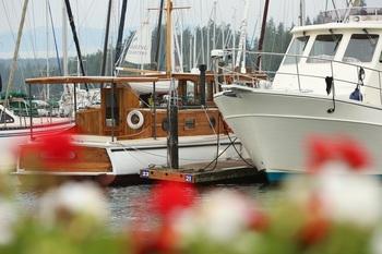 Fishing boats at The Resort At Port Ludlow.