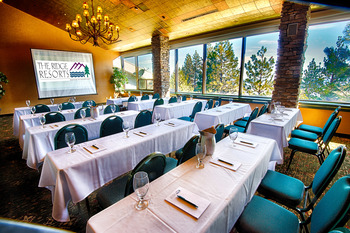 Conference room at The Ridge Resorts.