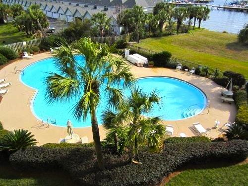 Outdoor Pool at Pirates' Bay Guest Chambers