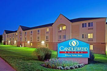 Exterior view of Candlewood Suites DETROIT-ANN ARBOR.