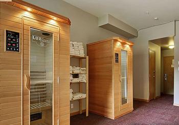 Saunas at Cahilty Lodge.