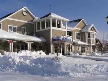 Winter at Newport Resort.