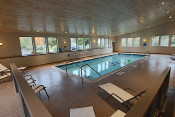 Indoor pool at The Sullivan.