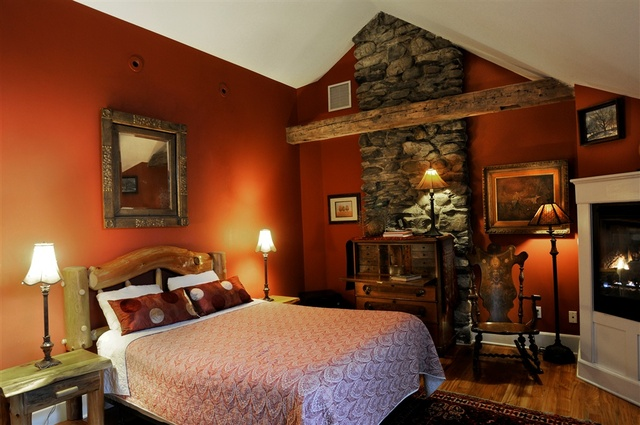 Winterberry room at Buttermilk Falls Inn & Spa.