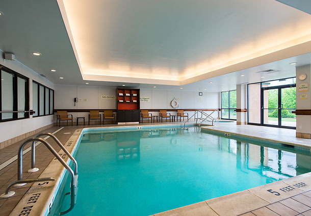 Indoor Pool at the Courtyard Inn By Marriott Scranton