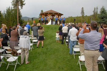 Wedding at Bear Creek Lodge.