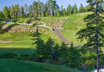 Golf Course Near The Mountain Inn at Lutsen