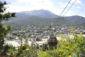 Gondola at Summit Vacations.