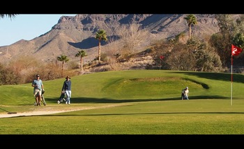 Golf course near Havasu Springs Resort.