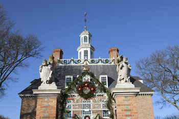 Holiday season at King's Creek Plantation.