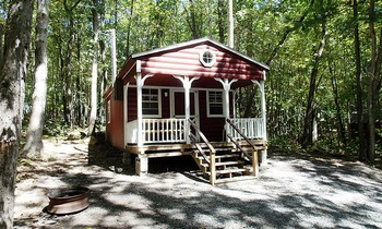 Family Cabin at Jim Thorpe Camping Resort