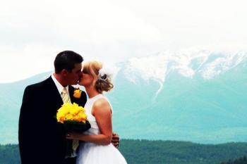 Wedding at Bighorn Meadows Resort.