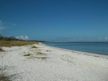 Beach near Gulfview Manor Resort.