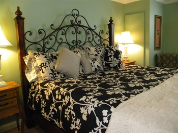 Vanilla Sky room at The Garden Walk Bed & Breakfast Inn.