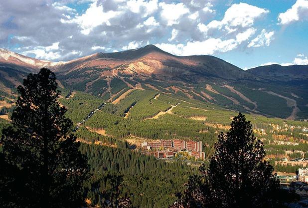 Mountains at Beaver Run Resort.