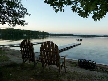 Lake view at Slack's Edgewater Beach Resort.