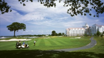 Golf course at Hyatt Regency Chesapeake Bay Golf Resort, Spa and Marina.