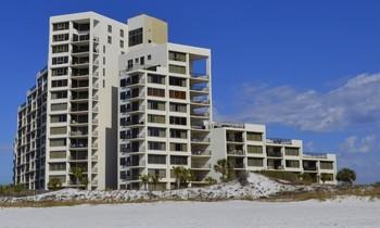 Exterior view of Gibson Beach Rentals.