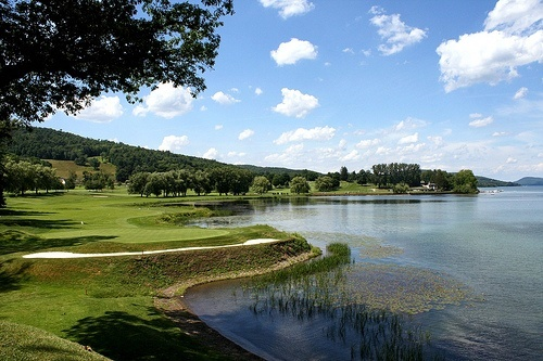 Leatherstocking Golf Course at The Otesaga Resort Hotel.