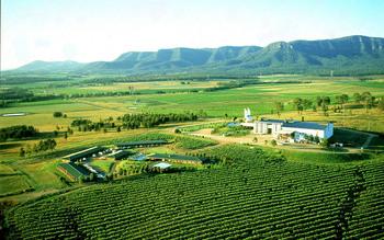 Exterior view of Hunter Valley Resort.
