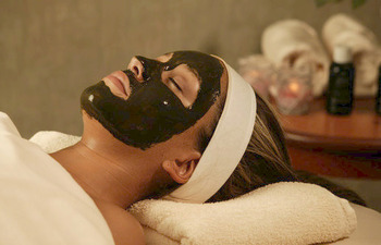 Skin care at The Spa at Eaglewood Resort.