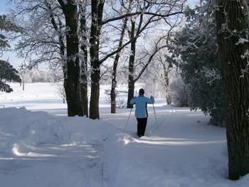 Skiing at The Lodge Resort Hotel.